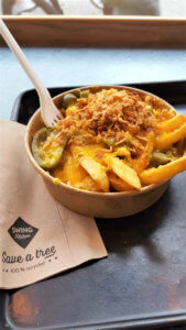 Swing Kitchen Hot Cheese Fries - Burger Special Berlin