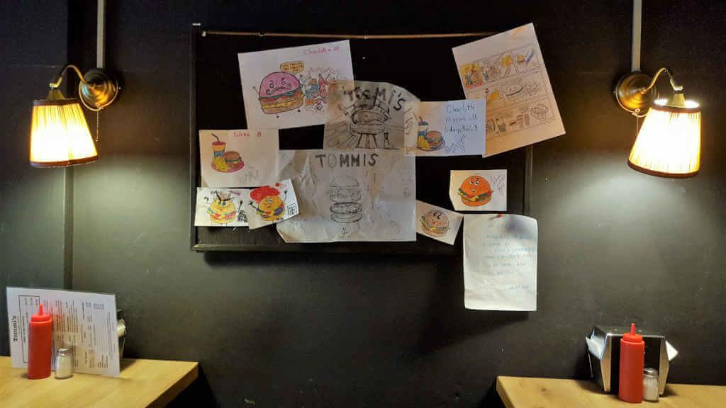 Tommi's Burger Joint Kinderzeichnungen