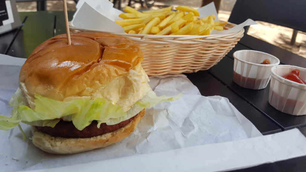 Tommi's Moving Mountains Burger