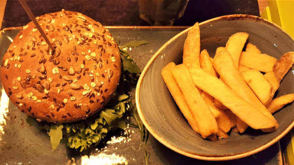 Vegan Burger Hans im Glück. Burger Special Berlin