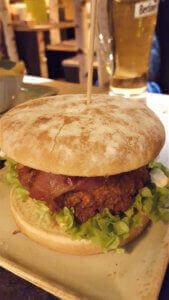 Vegetarian Burger Hans im Glück