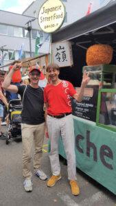 Christian Wagner und ich - Japan Food Festival Berlin 2019