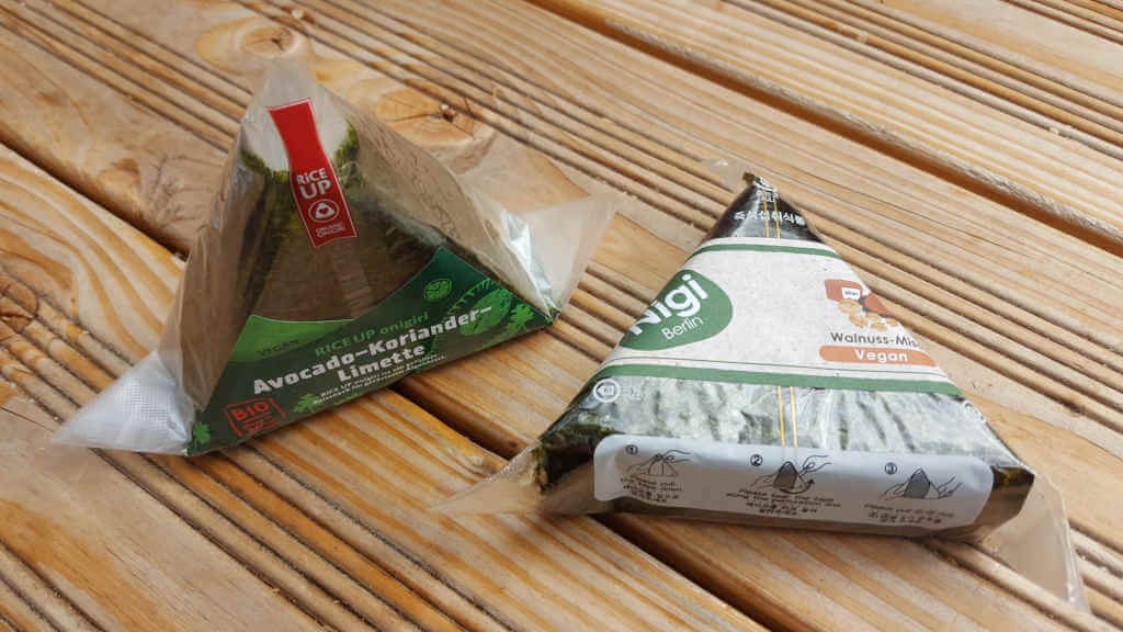 Onigiri von Rice Up und Nigi - Japan Food Festival Berlin