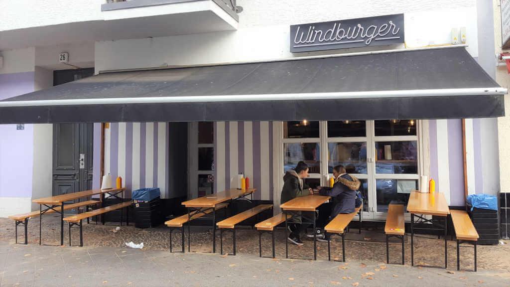 Windburger Charlottenburg front - Burger Special Berlin