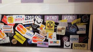 Windburger stickers