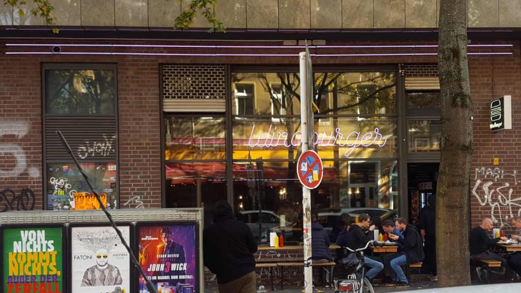 Windburger Kreuzberg Fassade - Burger Special Berlin
