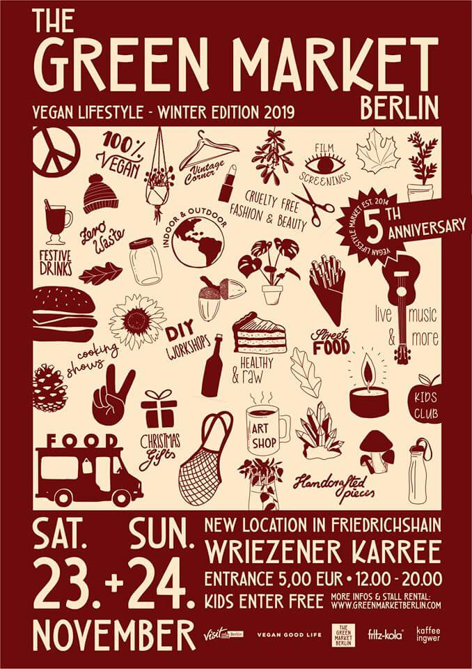 Green Market Winter Edition 2019 Plakat