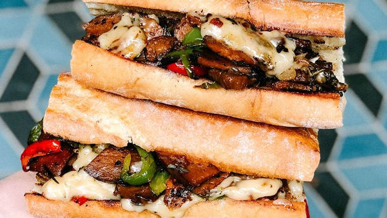Proof's Place Philly Cheesesteak Pop Up vegan
