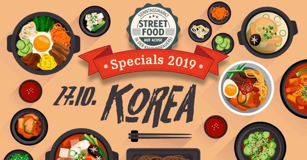 Street Food auf Achse Korea