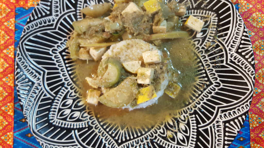 Green Curry. Cooking Class Chiang Mai.