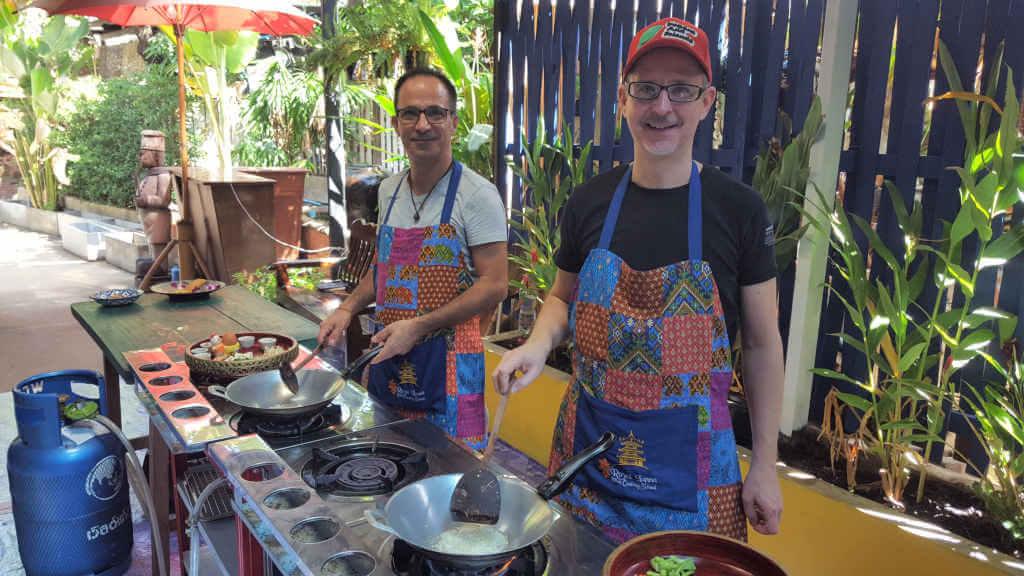 Kochkurs Chiang Mai Aussenküche