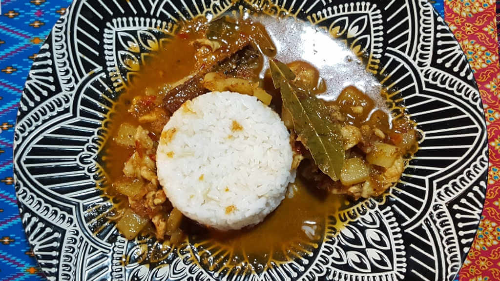 Massaman Curry. Royal Lanna Thai Cooking School Chiang Mai.