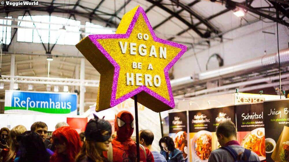 Go vegan - Be a hero: VeggieWorld Berlin 2020