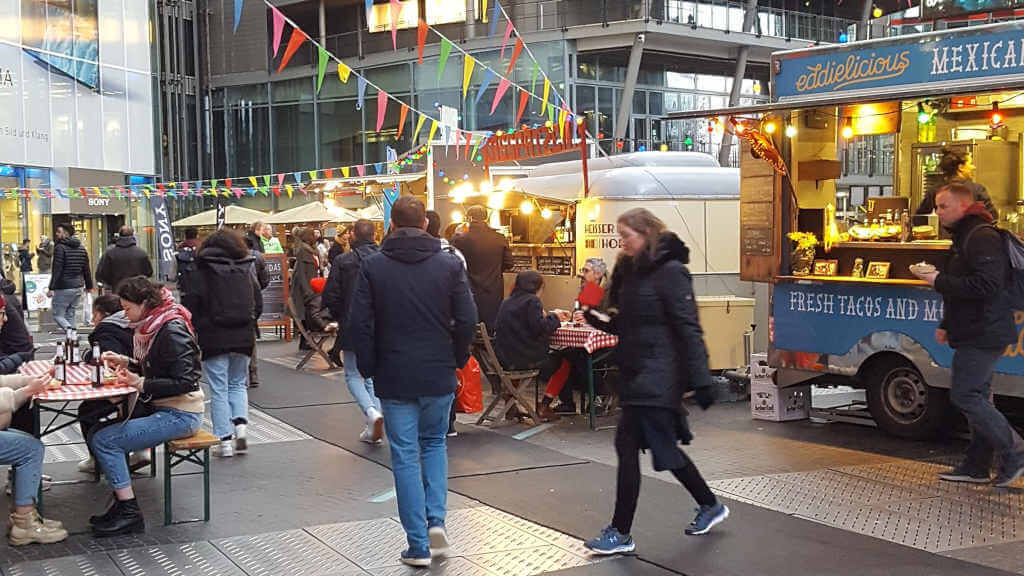 Berlinale Street Food Markt 2020