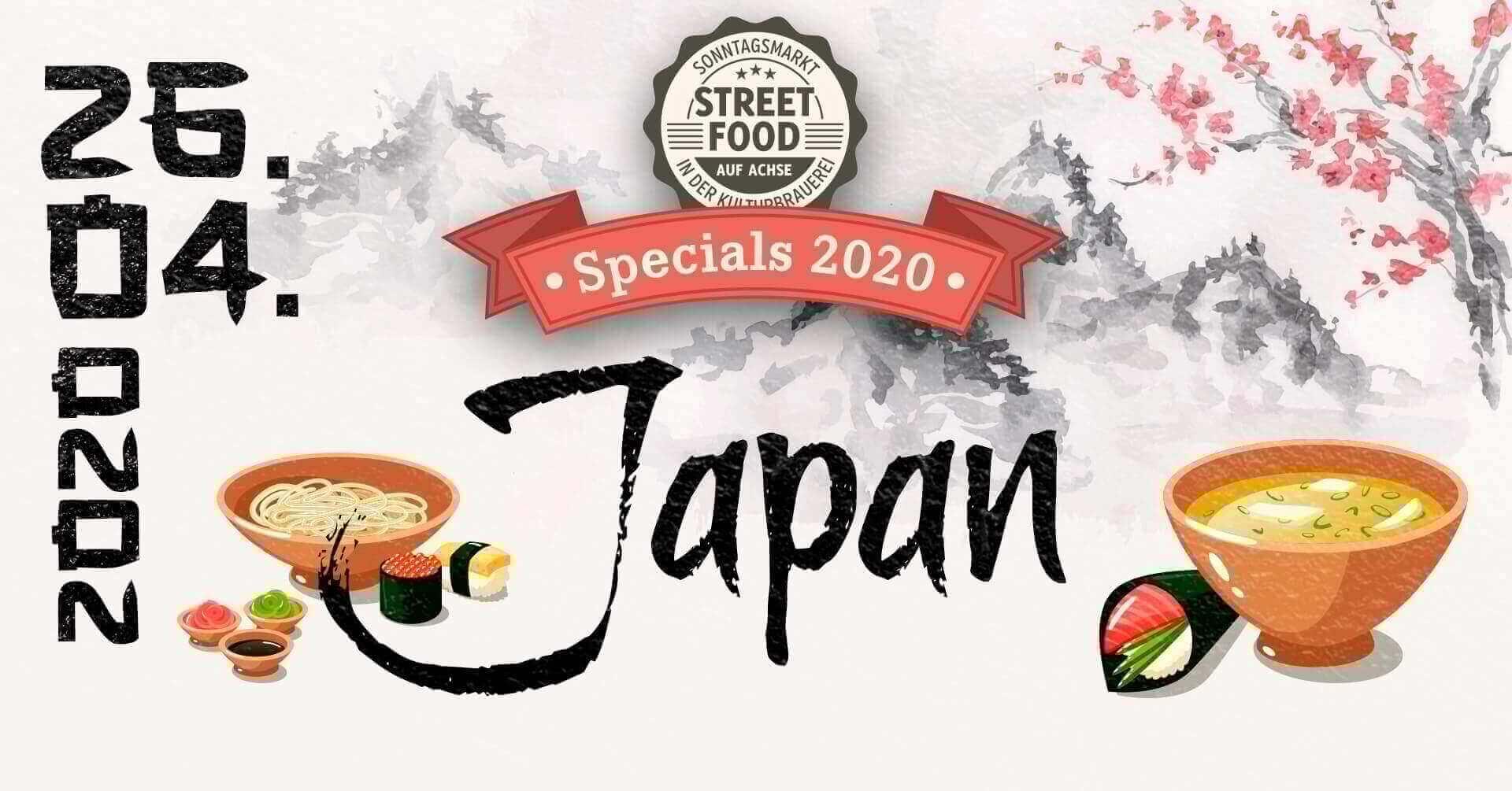 Street Food auf Achse Japan