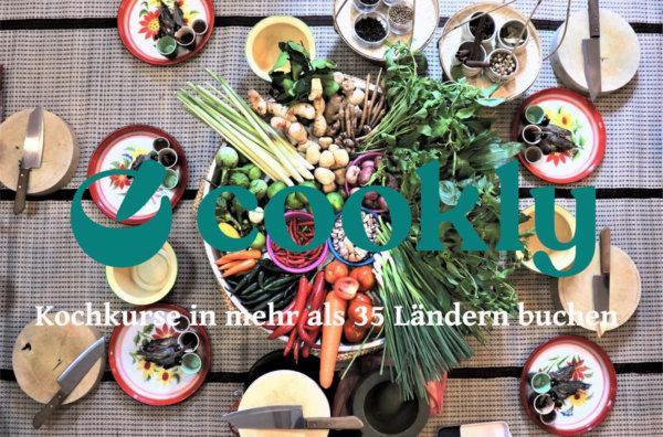cookly cooking classes. kochkurse weltweit buchen.