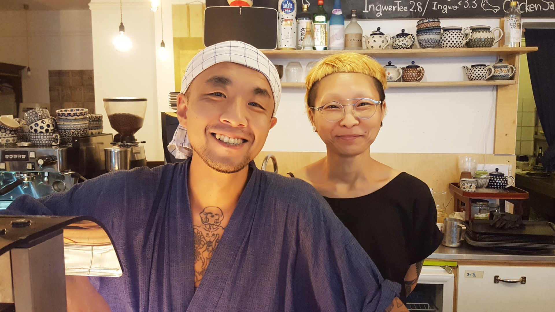 Kame Machiko und Shota