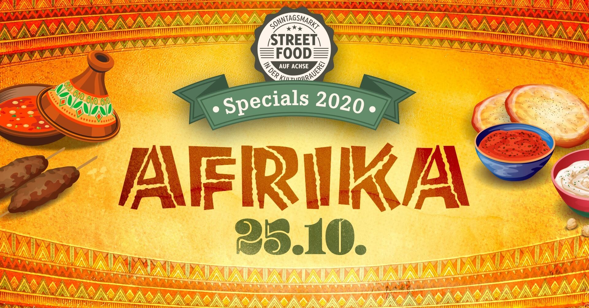 Street Food auf Achse Spezial - Afrika