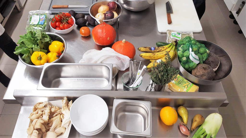 Zero Waste Kochkurs Zutaten
