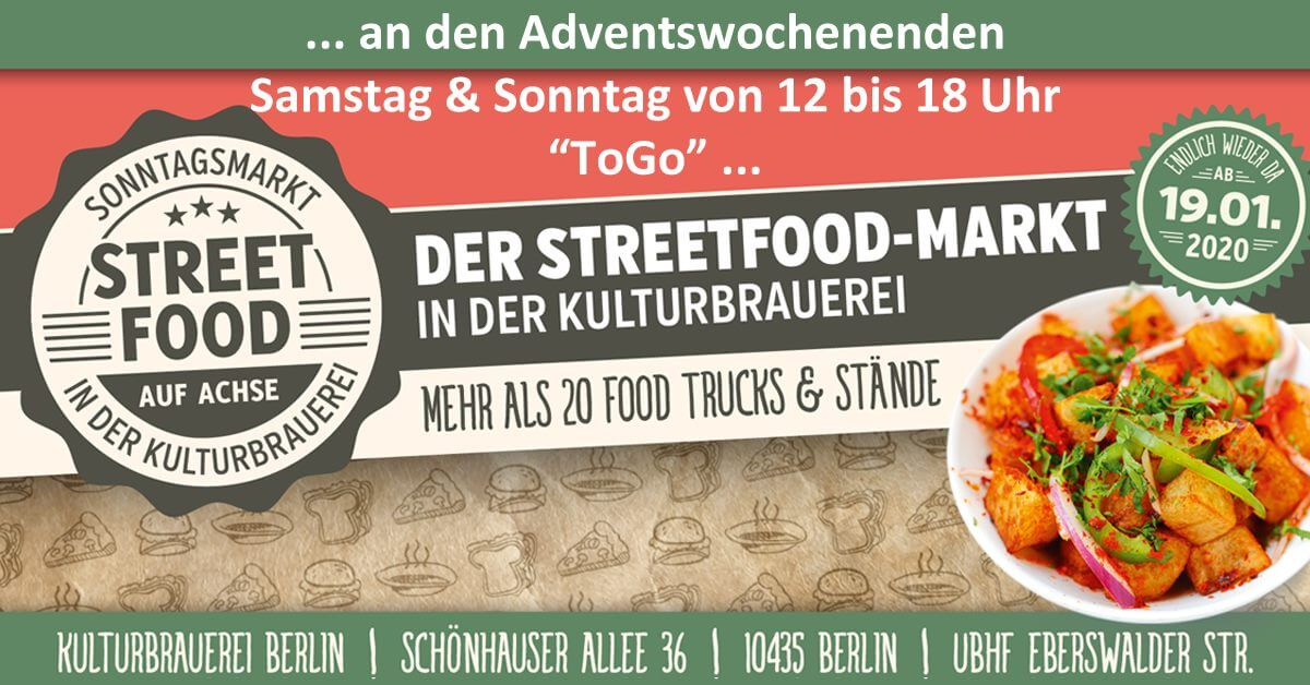 Street Food auf Achse Advent 2020