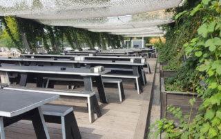 Beer garden Brlo empty