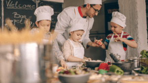 Wege aus der Krise - Kochkurs mit Kindern