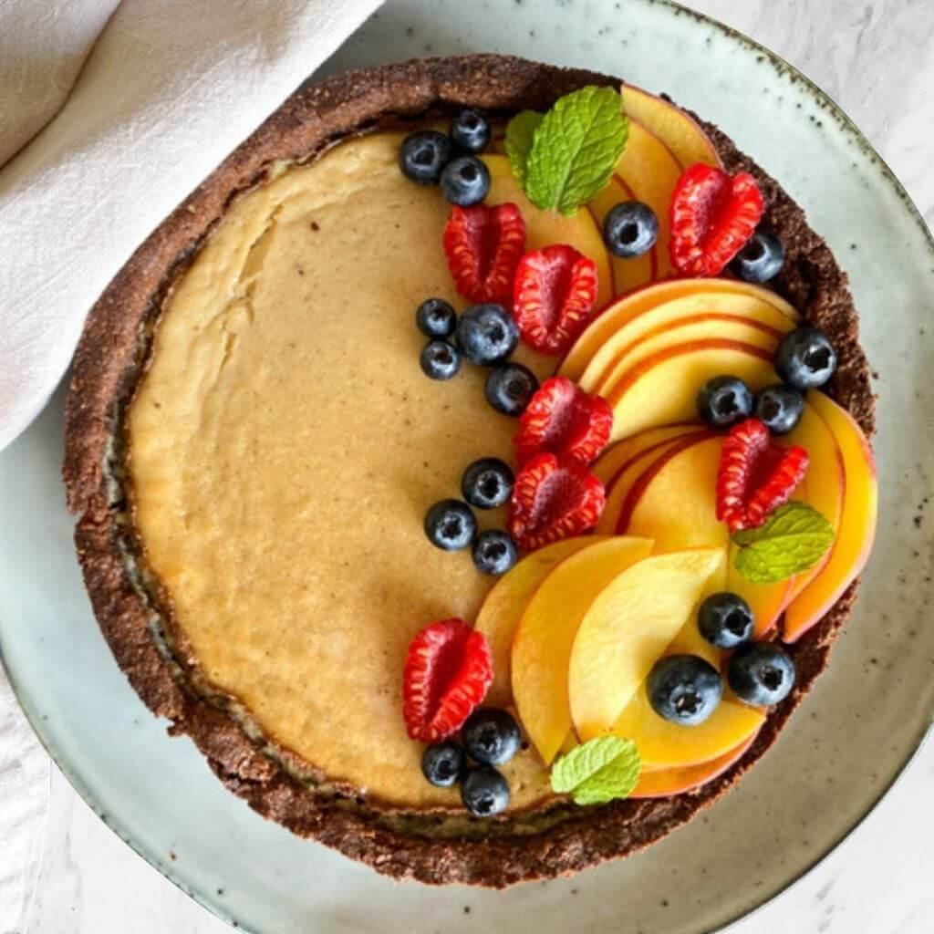 Bake Night Online Backkurs - vegan Cheesecake
