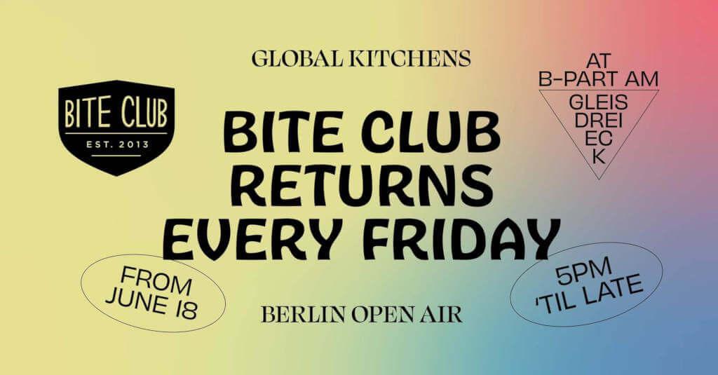 Bite Club Returns 18.06.2021