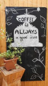 Coffee is always a good idea - Grünes Café