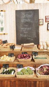 Grünes Café Gemüse-Obst-Britzer Kräuter