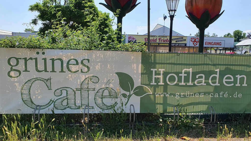 Grünes Café und Hofladen Banner