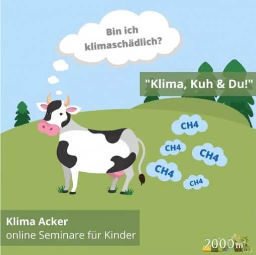 Klima, Kuh und du Online Seminar für Kinder