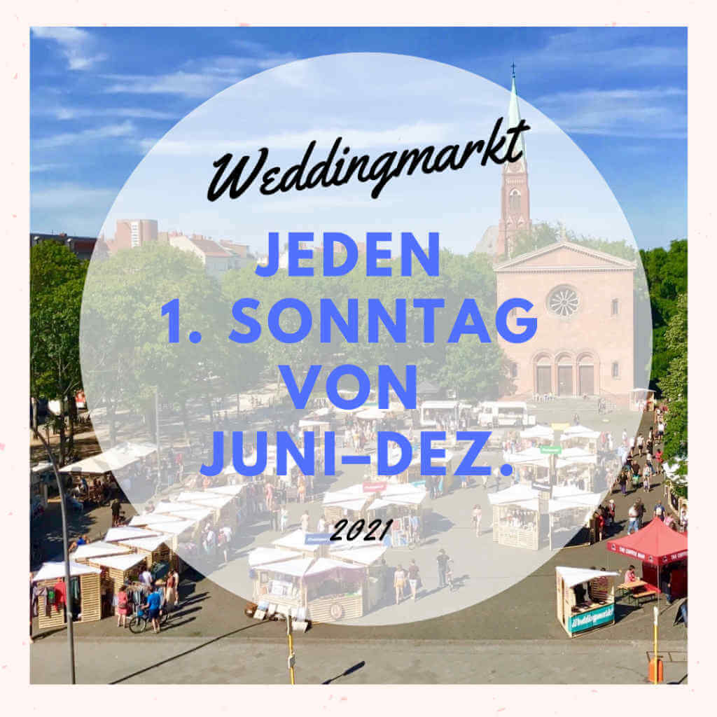 Weddingmarkt Juli 2021