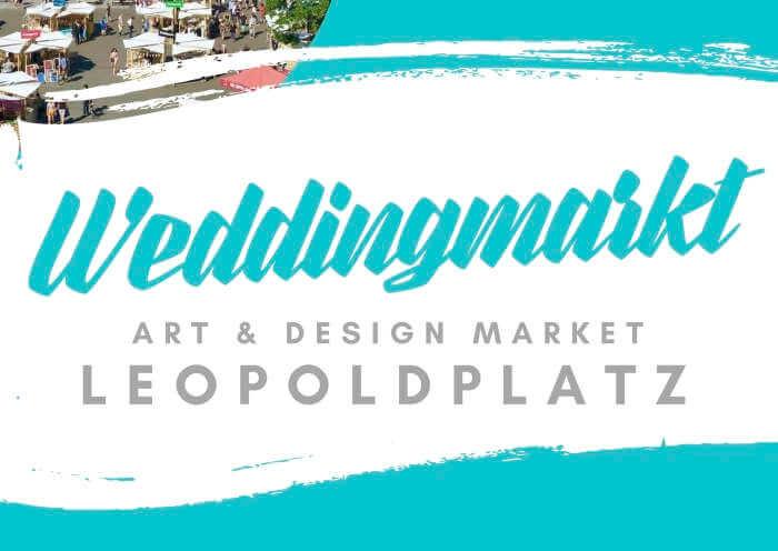 Weddingmarkt Juli 2021 Plakat