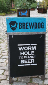 Brew Dog Berlin Worm Hole to Planet Beer