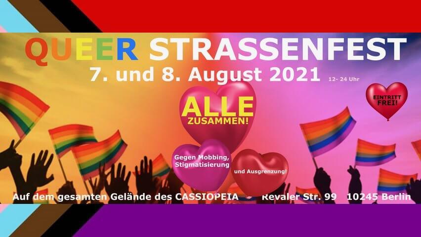 Queer Straßenfest 2021