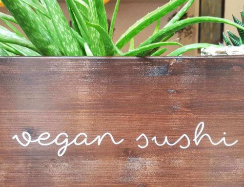 Das beste vegane Sushi
